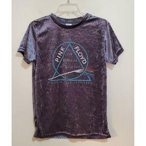 Pink Floyd Velvet The Dark Side of the Moon Shirt